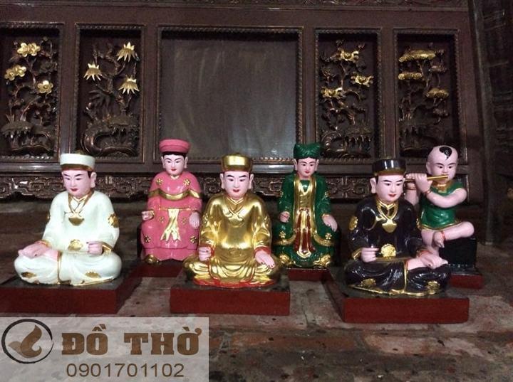 Làm mới tượng thờ, tượng Phật, sơn son thếp vàng-8