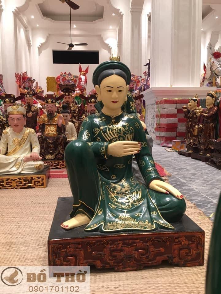 Làm mới tượng thờ, tượng Phật, sơn son thếp vàng-9