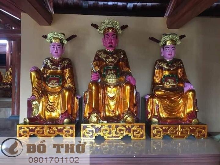 Làm mới tượng thờ, tượng Phật, sơn son thếp vàng