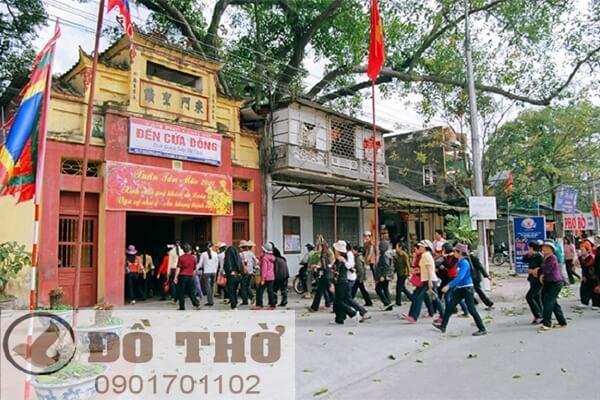Đền Cửa Đông thờ Mẫu Thoải tại Lạng Sơn