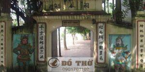 Đền Mẫu Thoải tại Long Biên, Hà Nội