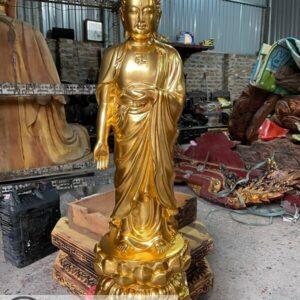 Tượng Phật A di đà tiếp dẫn